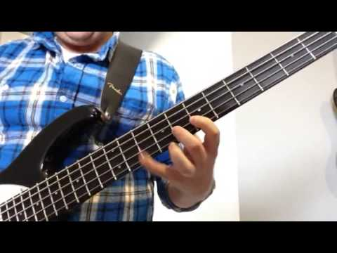 Bass Lesson (Led Zeppelin's Immigrant Song, Chorus only)