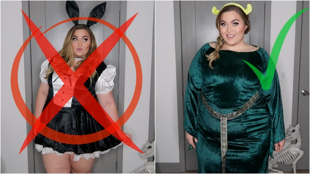 Fat Girl Halloween Dress Code - YouTube