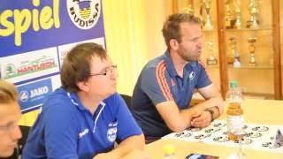 FSV Budissa Bautzen: Pressekonferenz Spiel gegen TSG Neustrelitz