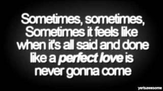You will be loved - Nicole Scherzinger [lyrics on screen]