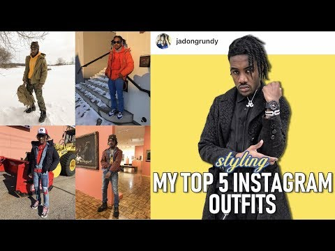 How to Style My Top 5 Instagram Outfits  Men's Fashion Haul
