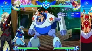 Arcana Heart 3 Love Max!!!!! Weiss Combo VIdeo