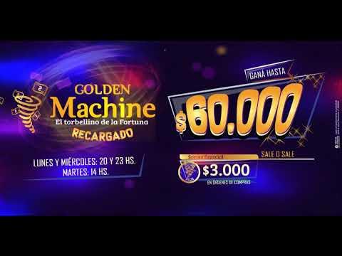 Bingo Golden Palace - Golden Machine Recargado