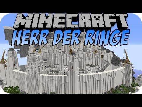 Minecraft HERR DER RINGE (Instant Structures Mod #6)