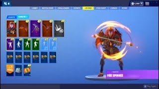 Fortnite NEW PACK OF SKIN LEGEND Of LAVE