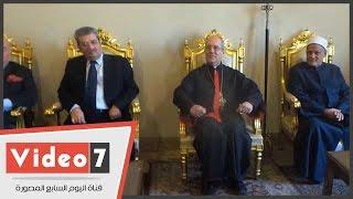 """بالفيديو.. بطريرك الأرمن: """"الأقباط والمسلمين يد واحدة فى خدمة مصر"""""""