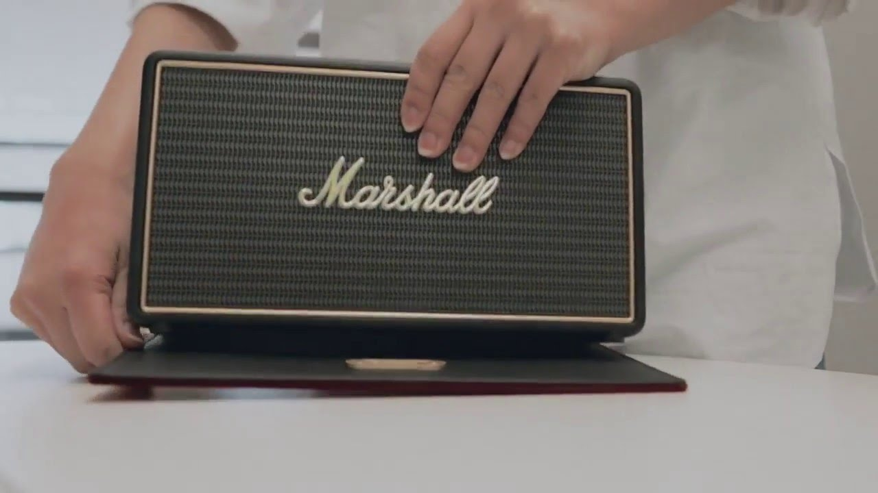 Hands On Review with Marshall Stockwell Portable Bluetooth Speaker