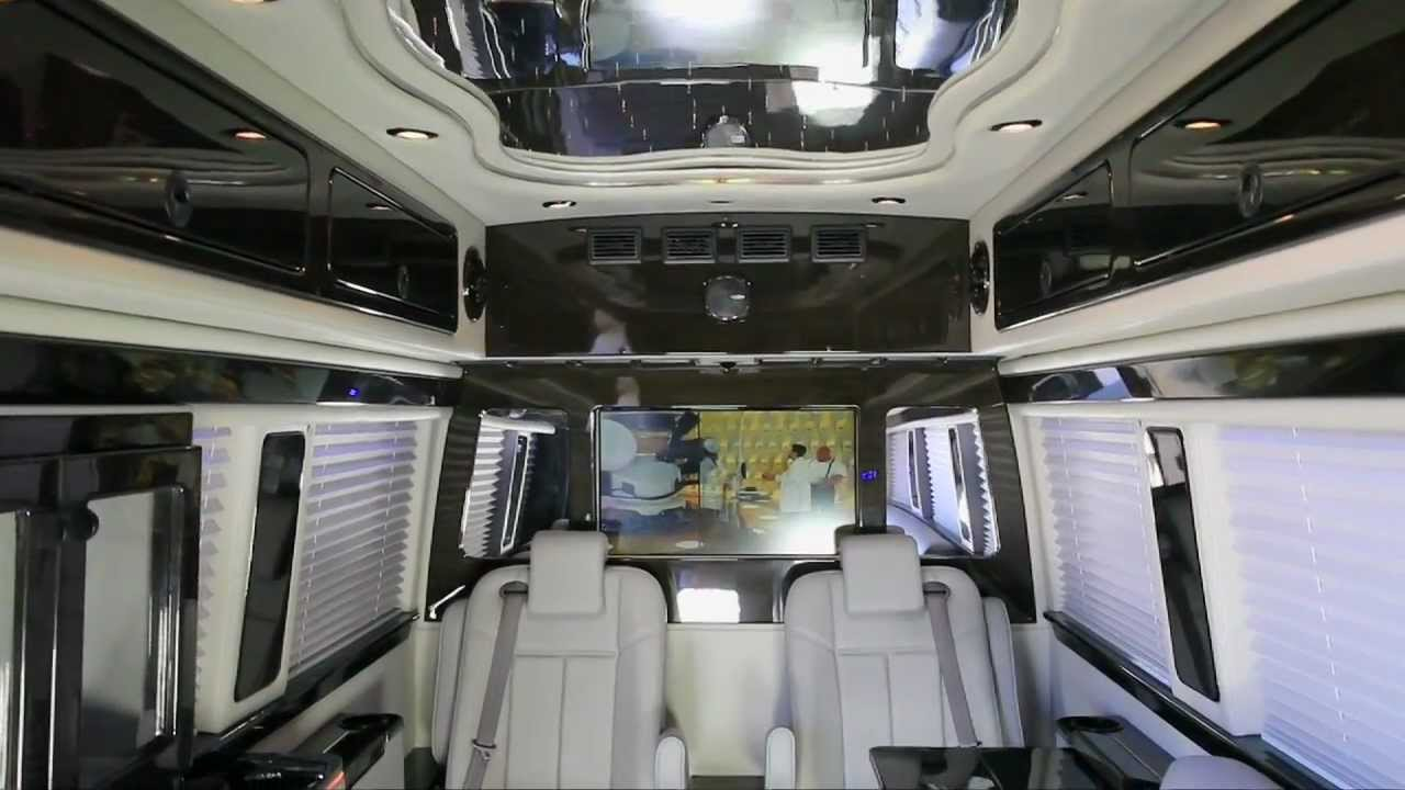 Mercedes Sprinter Van >> Mercedes-Benz Custom Executive Sprinter Van - YouTube