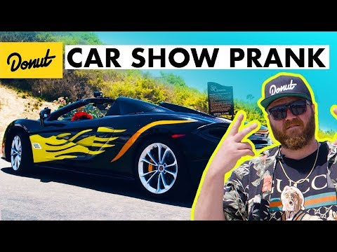 Cheap Mods on a Supercar Prank!   Donut Media