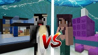 Minecraft | GIRLFRIEND VS BOYFRIEND UNDERWATER BUILD BATTLE!