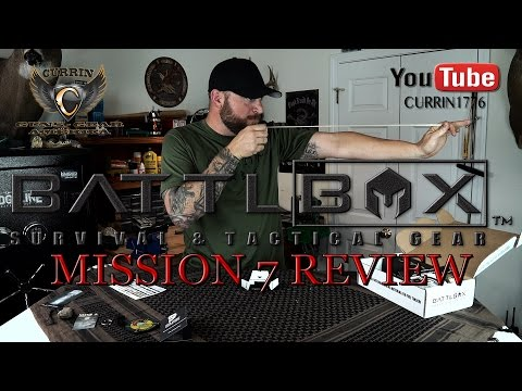 "BattlBox Review Mission 7 September 2015 ""Year of the BattlBox"""