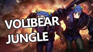 League of Legends - Volibear Jungle - Full Gameplay Commentary