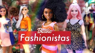 Unbox Daily: ALL NEW 2019 Barbie Fashionistas - Curvy | Petit | Tall | New Fashion & Accessories