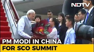 pm modi arrives in china