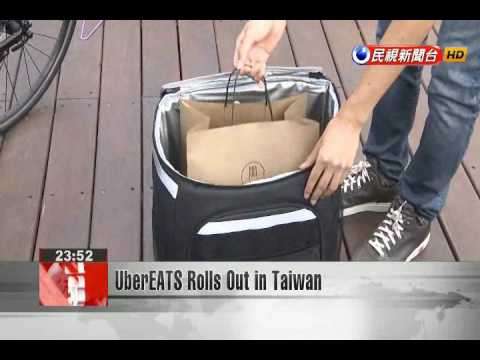 UberEATS Rolls Out in Taiwan