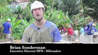 Brian Sonderman, Executive Director at Habitat for Humanity Milwaukee