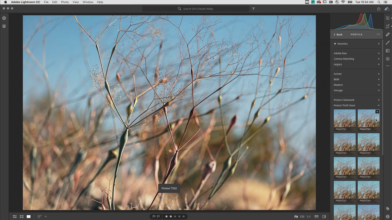 June Lightroom CC Releases: Preset and Profile Synchronization is