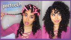 PERFECT CURLS WITH FLEXI RODS - AN EASY NATURAL HAIR TUTORIAL BY LANASUMMER