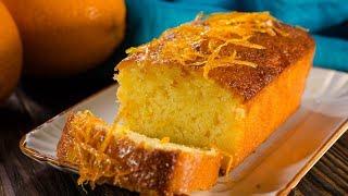 Апельсиновый кекс с пропиткой | Orange loaf cake
