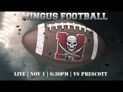 2019 Mingus Football Week 10 vs Prescott Badgers