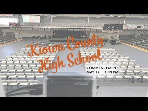 2018 Kiowa County High School Graduation