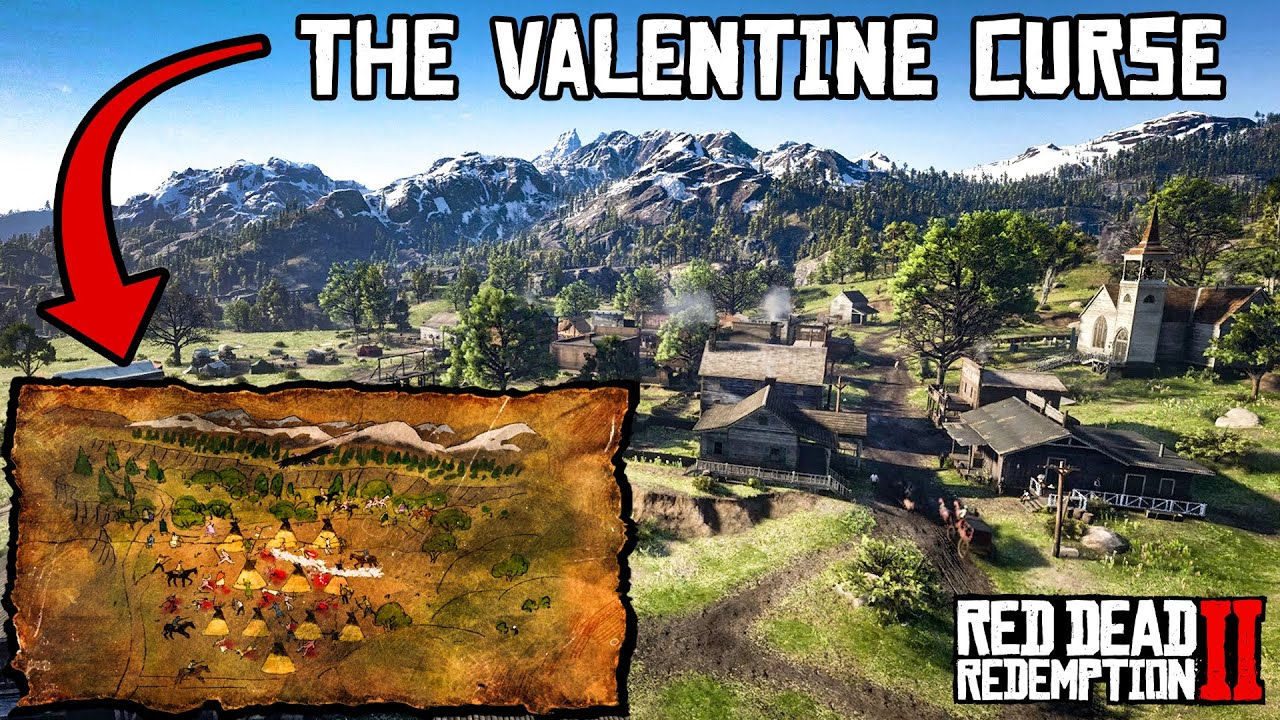 Valentine Curse Solved & Explained (Red Dead Redemption 2)
