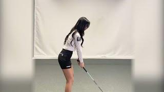 KLPGA 이루리 프로의 골프강의 영상과 스윙영상 입니…
