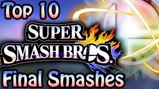Top 10 Super Smash Bros. Final Smashes