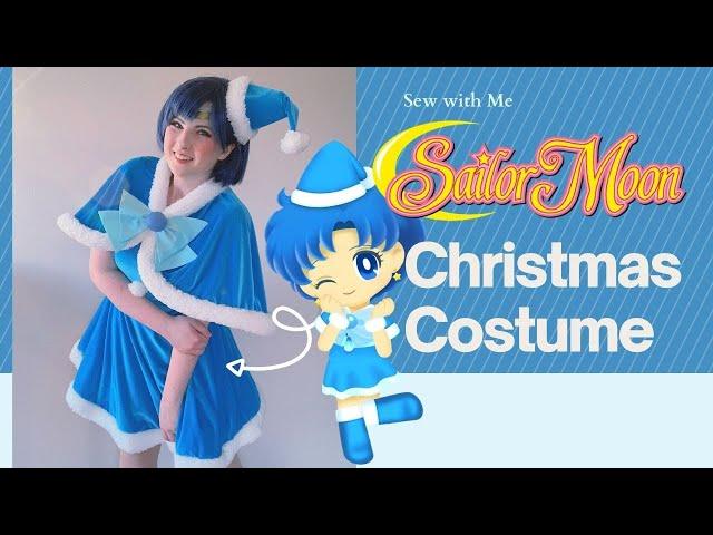 Making a Christmas Cosplay - Christmas Sailor Mercury from Sailor Moon!