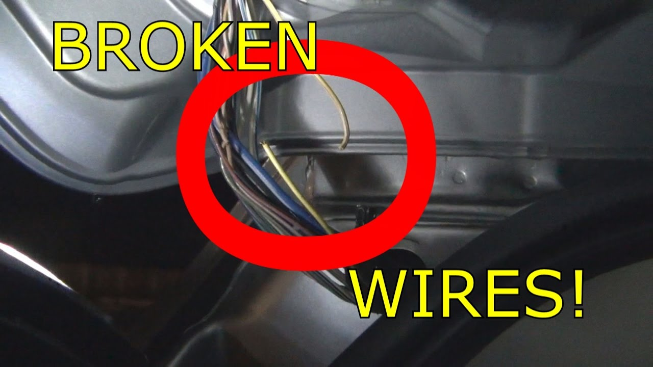 2012 dodge journey rear hatch wiring broken [ 1280 x 720 Pixel ]