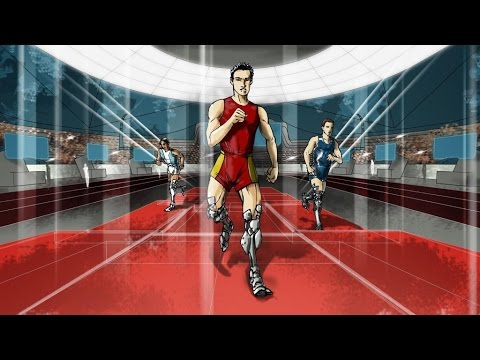 Cybathlon Powered Leg Prosthesis Race first concept video