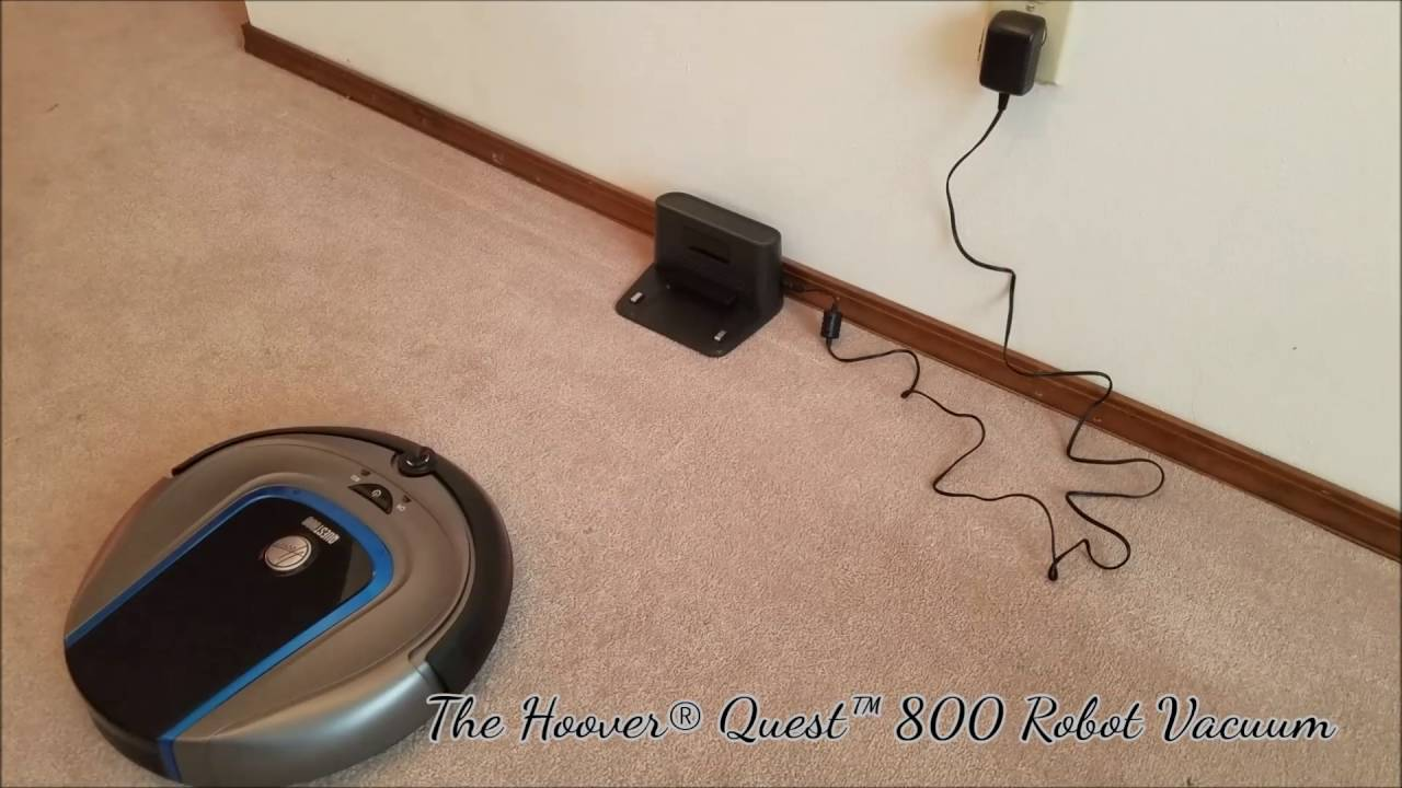 Hoover Quest 800 Robot Vacuum Timelapse Youtube Wiring