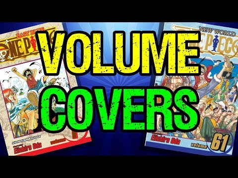Looking At Volume Covers! - One Piece Discussion