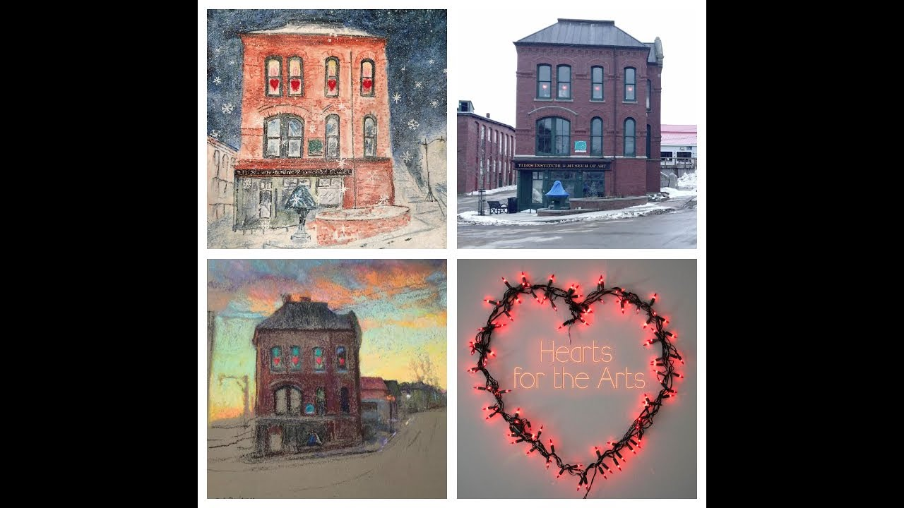 Two Artists Show Some Eastport Love