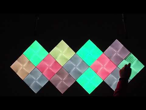 Nanoleaf Canvas - Buttons and touch gestures