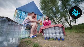 Zamieszkali w domu z plastikowych butelek! [Patent na...] TTV