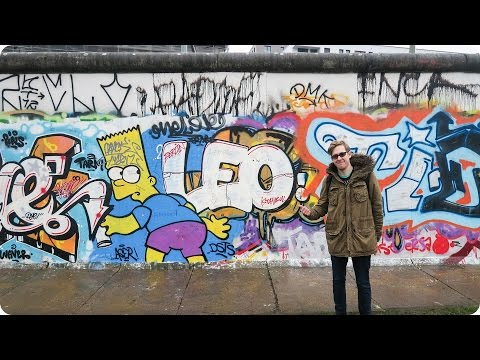 Biking the Berlin Wall! | Evan Edinger Travel