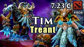 Dota 2 Treant Protector 7.23   Update 7.23c   Feeling Spicy