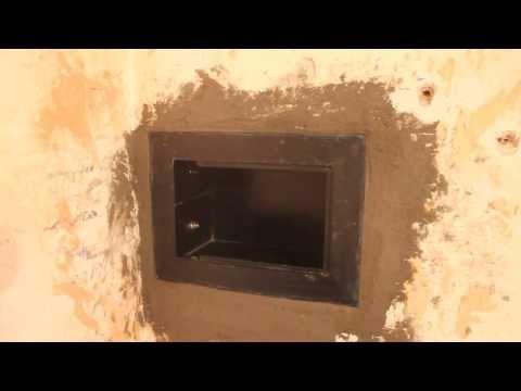 Установка сейфа в стену. Как установить сейф в стену своими руками