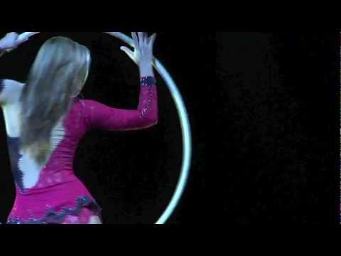 Aerial Hoop Demo – PI Acrobats – Izabela Kowalska