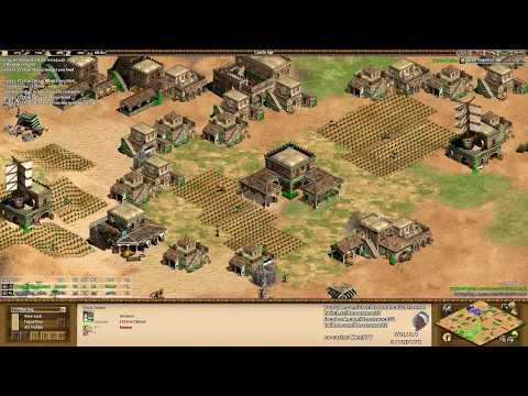 Aoe2: Slam vs Spring (Game #1) - King of the Desert w/ Memb