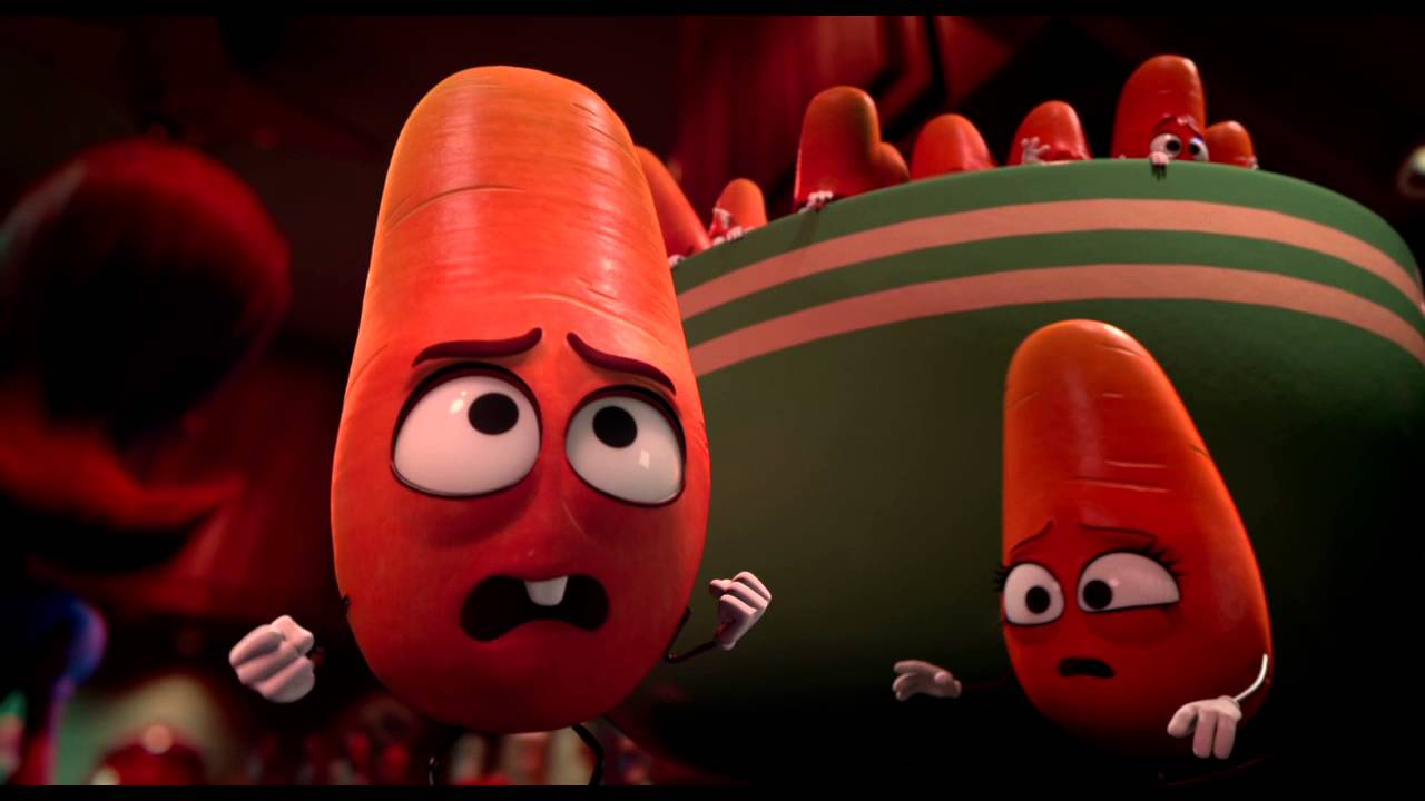 The baby carrots flee for their lives.