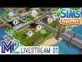 Sims FreePlay LiveStream - Neighbor Tours (Aya & Grouchy)