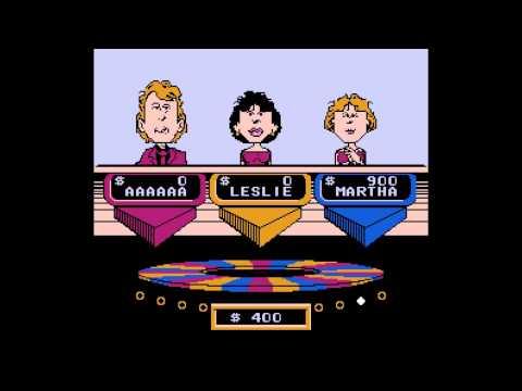 NES: Wheel of Fortune Starring Vanna White: Easy Walkthrough. [HD]