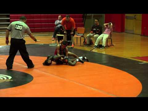 Rahway Middle School Wrestling Defeats  Linden  68  18 Antonio Dalmu 2nd Bout_ A
