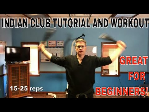 BEST INDIAN CLUB SWINGING TUTORIAL AND WORKOUT FOR BEGINNERS | MATT PASQUINILLI from YouTube · Duration:  7 minutes 1 seconds