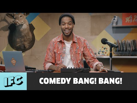 Comedy Bang! Bang! | Kid Cudi Knows Pharrell is a Vampire (Feat. A$AP Rocky) | IFC