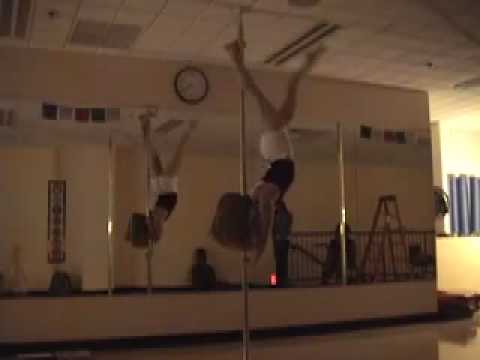 Jenyne Butterfly demo at Awakenings Pole Dance Fitness