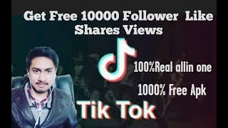 How to get free tiktok unlimited likes, views and shares