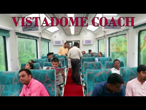 India's New Vistadome Coach of Indian Railways : Mumbai - Goa : Full Coverage : Jan Shatabdi Express